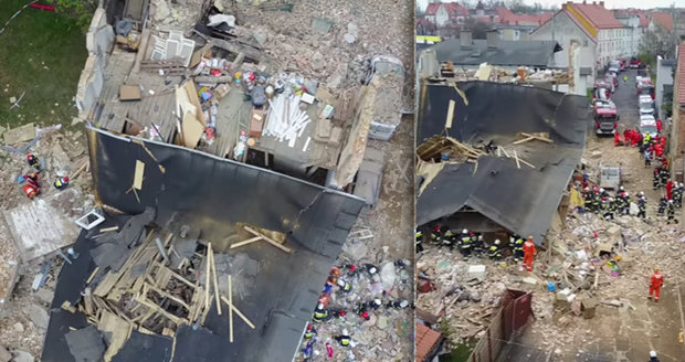 Výbuch plynu srovnal obytný dům ve Slezsku se zemí: Zahynuly dvě děti!