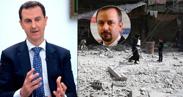 Děláme ze sebe osly, tvrdí Kalouskův muž. Volá po zavření české ambasády v Sýrii