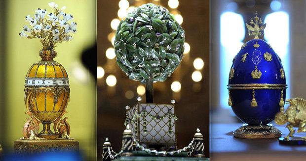 Nejdražší velikonoční klenot světa? Fabergého vejce