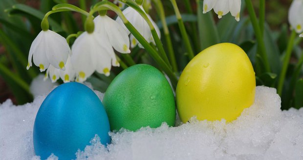 Koledníky čeká zima, déšť i sníh. Nejhorší počasí za celé Velikonoce