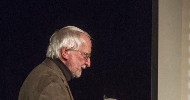 Herce přišel pozdravit také ředitel občanského sdružení Život 90 Jan Lorman.