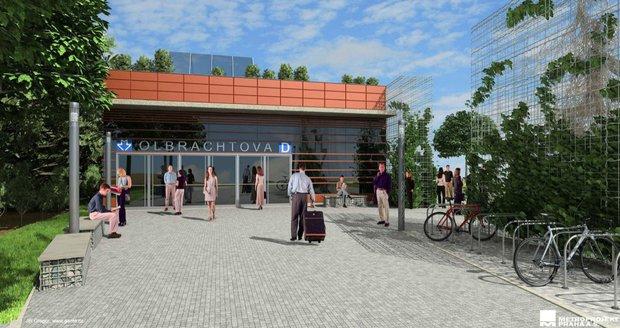 Takto vypadají vizualizace nových stanic, které vypracoval Metroprojekt před několika lety.
