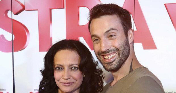 Vašek s exmanželkou Lucií Bílou