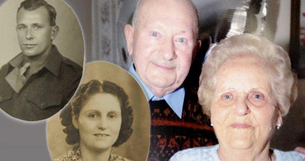 Staří manželé zemřeli ruku v ruce jen dvě hodiny po sobě. Spolu byli 77 let