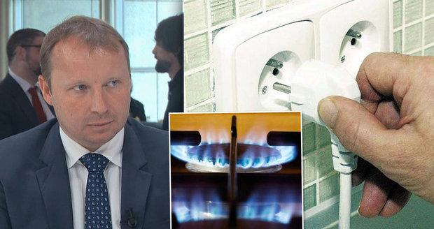"""Elektřina zlevní až o 15 procent. """"Nechceme být závislí na Rusku,"""" říká Poche"""