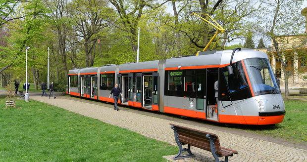 Pozměněná tramvaj 14T