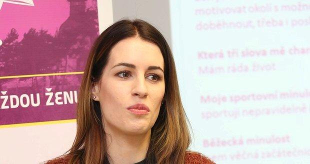 Lucie Křížková občas prožívá stresující období.