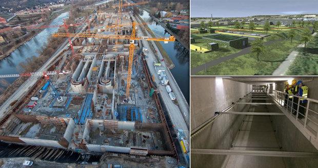 V Praze pokračuje stavba obří linky čistírny odpadních vod. Konstrukce spolkne téměř 6 miliard korun.