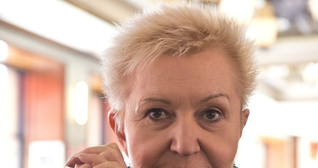 Zpěvačka Eva Urbanová