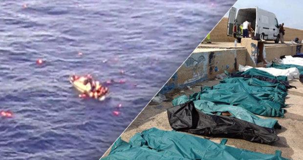 """""""Pospěšte si. Umíráme!"""" Italové ignorovali volání uprchlíků, 268 jich utonulo"""