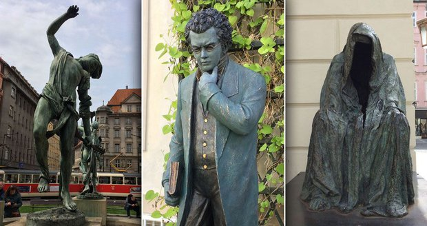 33e581368b0 Kontroverzní sochy Anny Chromy zaplavují Prahu  Odborníkům se to ...