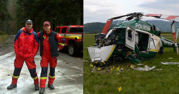 Při pádu vrtulníku zahynuli dva hrdinové: Radoslav a Peter se domů už nevrátí