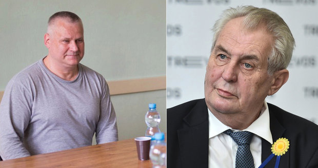 Zeman dá Kajínkovi milost: Odsouzený vrah míří po 23 letech na svobodu