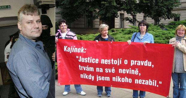 Kajínkova příznivkyně Magdalena Vinšová: Bojí se, že ho někdo na svobodě vyprovokuje!