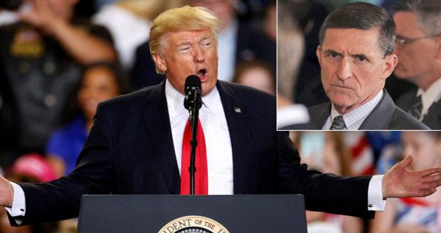 Trump o skandálu svého exporadce: Vyhodil jsem ho, protože lhal FBI. Je to ostuda