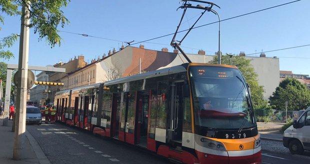 V Praze 5 se srazily dvě tramvaje. (Ilustrační foto)