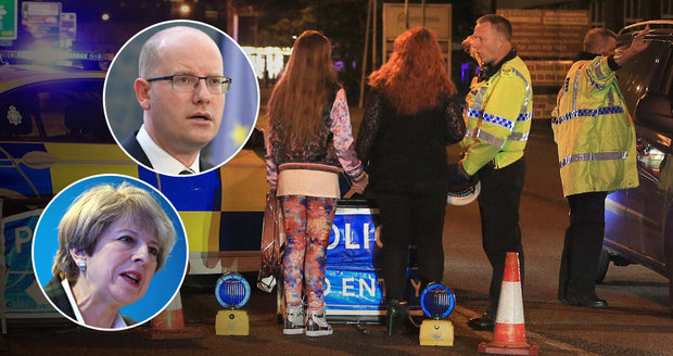 """""""Hnusná ohavnost, zbabělý útok na mladé."""" Politici odsuzují teror v Manchesteru"""