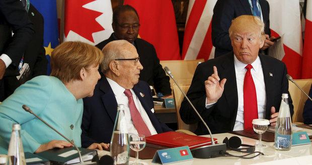 Trump váhá s podporou dohody o klimatu. Na summitu G7 bylo pro jen šest lídrů