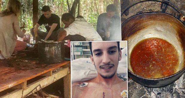 Petr s rakovinou: V Peru si namíchal nebezpečný nápoj z liány mrtvých