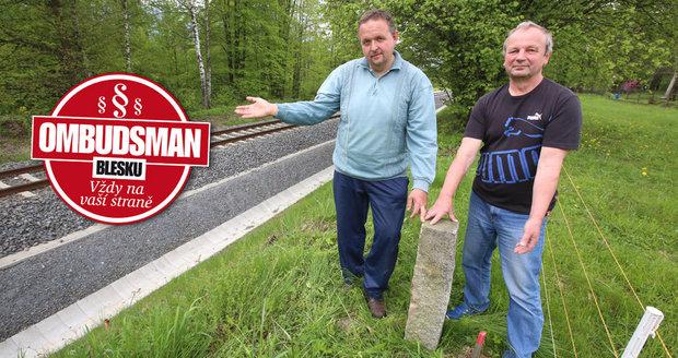 Ukradli mi pozemek bagrem! stěžuje si Petr (63) na bezohlednou revitalizaci