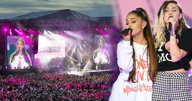 Bieber, Miley Cyrus i Oasis zpívali proti teroru: Vynesli pozůstalým 300 milionů