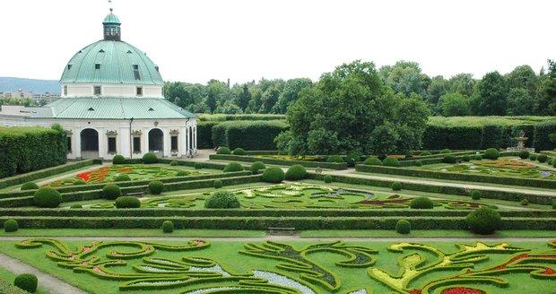Květná zahrada v Kroměříži
