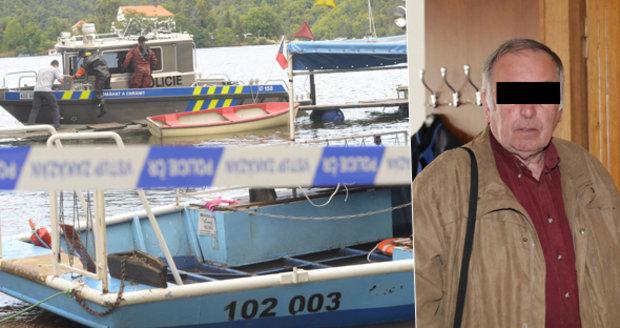 Kapitán potopeného přívozu u Slap: Uznal chybu, dostal podmínku