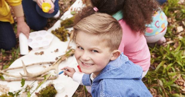 Ve Kbelích se zkraje školního roku koná Pohádkový park pro děti. (ilustrační foto)
