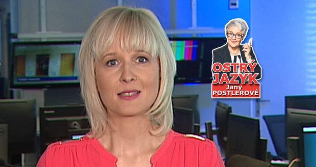 Neprávem opomíjená Silvie Friedmannová z Newsroomu ČT24