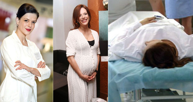 Andrea Kerestešová musela v šestém měsíci těhotenství zahrát touhu po potratu.