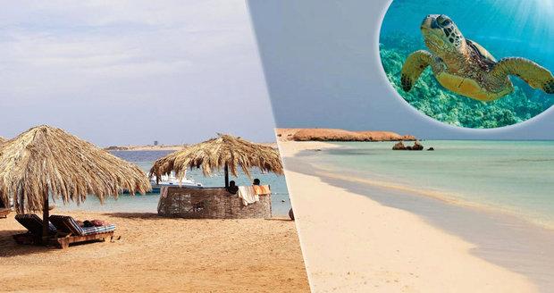 Nejkrásnější pláže Egypta