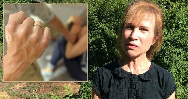 """""""Hrála jsem mrtvou, abych přežila."""" Dagmar 9 let týral manžel, teď žije sama"""