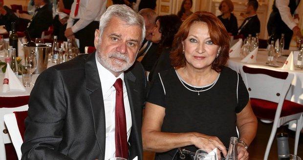 Manželé Petr Štěpánek a Zlata Adamovský