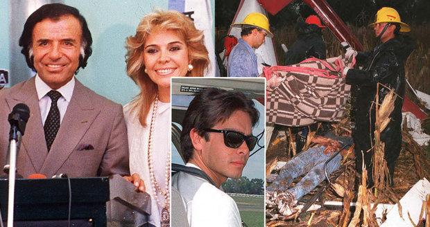 Argentinci exhumovali po 22 letech exprezidentova syna, prý byl zavražděn