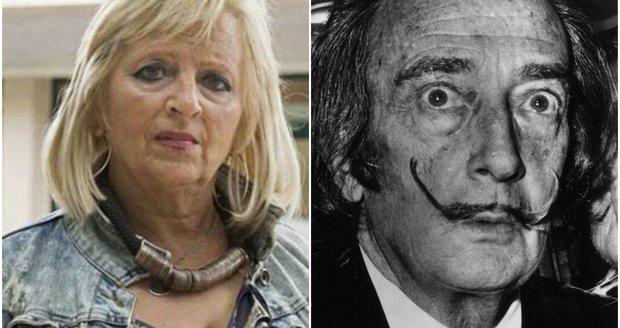 """Dalího ostatky budou exhumovat: """"Jsem jeho dcera,"""" tvrdí žena a chce testy"""