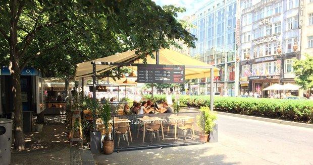 Restaurační zařízení v Praze 9 nemusí od ledna platit za zábor veřejných prostranství. (ilustrační foto)