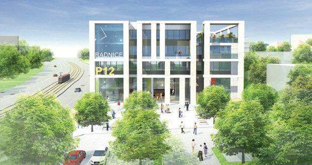 Kvůli stavbě nové radnice upozorňuje Praha 12 na hluk.