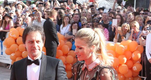 Paľo Habera a Daniela Peštová