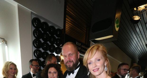 Aňa Geislerová s Marthou Issovou a Davidem Ondříčkem