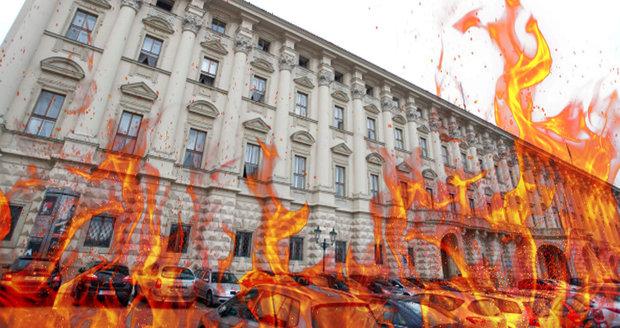 V Černínském paláci prý straší pyšná hraběnka.