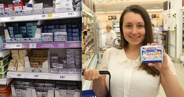 Kostka másla za 70 korun! Výrobci potichu zdražují