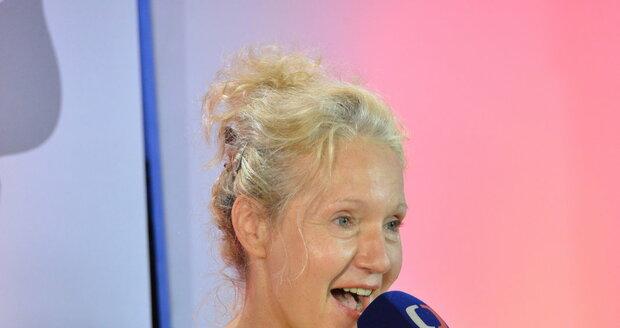 Spisovatelka Irena Obermannová v Karlových Varech