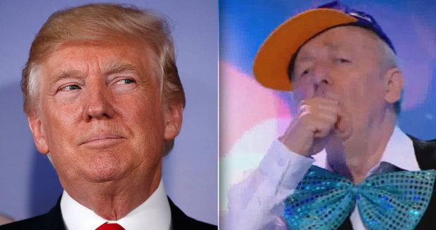 """Pro Donalda s láskou! Poláci vítali Trumpa oslavnou písní, ten """"šil"""" do Putina"""