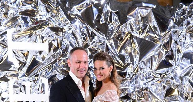 Andrea Verešová s manželem Danielem Volopichem
