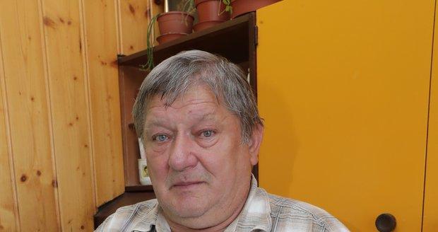 Jaroslav Dřízga se zesnulou manželkou.