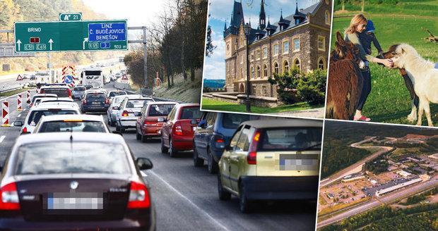 Jak si užít kolonu na dálnici D1: Zajímavá místa a dobré restaurace na dosah!