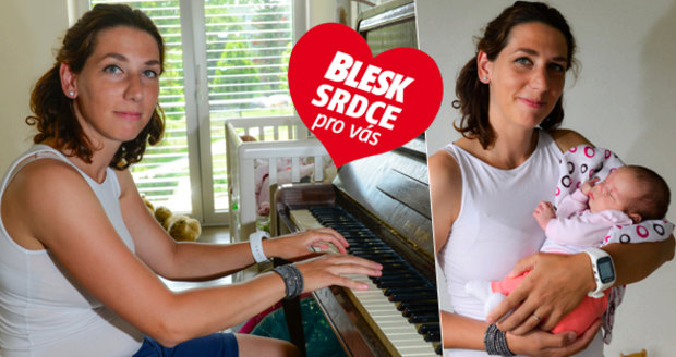 Lucie Pečenková porazila rakovinu a porodila dceru.