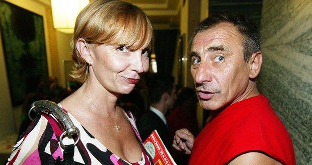Pavel Zedníček s Hanou Kousalovou