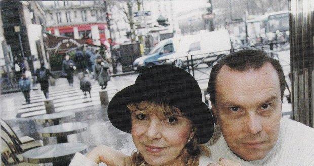 Štefan s Hankou v Paříži
