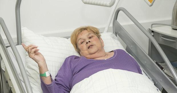 Ivanka Devátá po náročné operaci